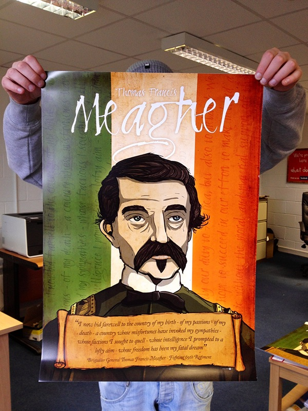 Thomas Francis Meagher Poster