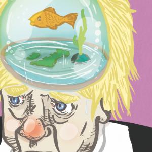 Boris Johnson - Illustration by Lee Grace Illustrator, Waterford