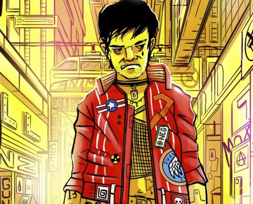 Cyberpunk 2077 Illustration thumbnail